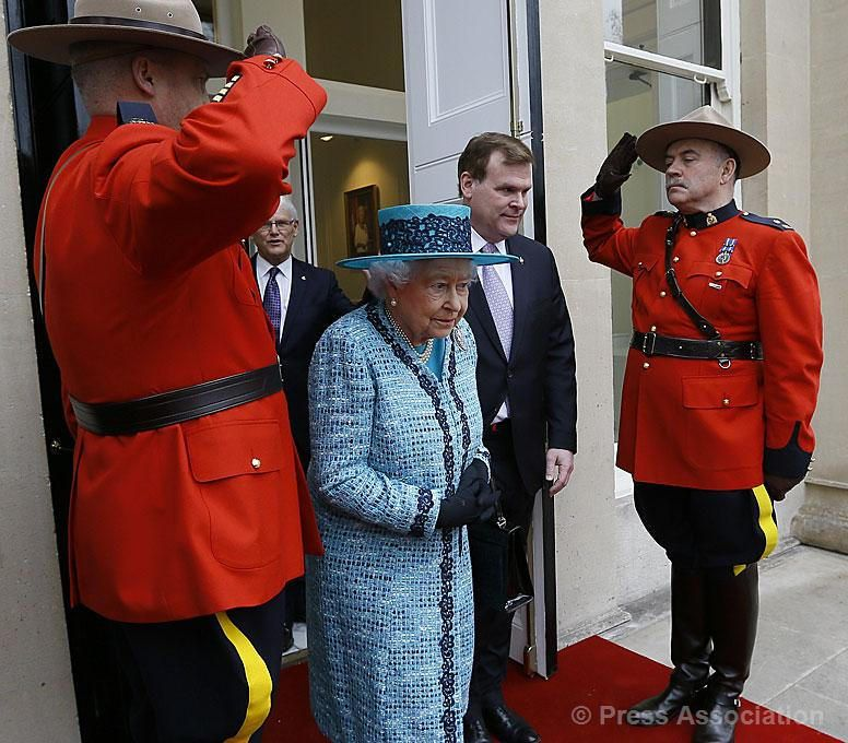 HM The Queen @ Canada House 2015