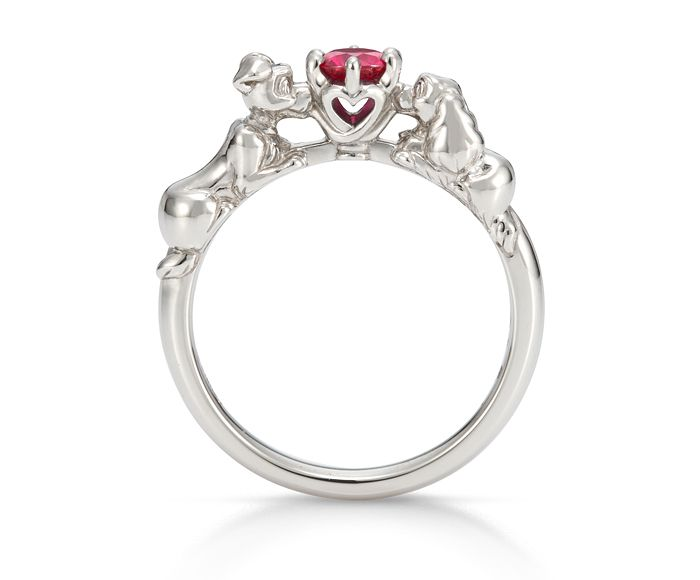 Disney S Quot Lady And The Tramp Quot Engagement Ring Disneyana