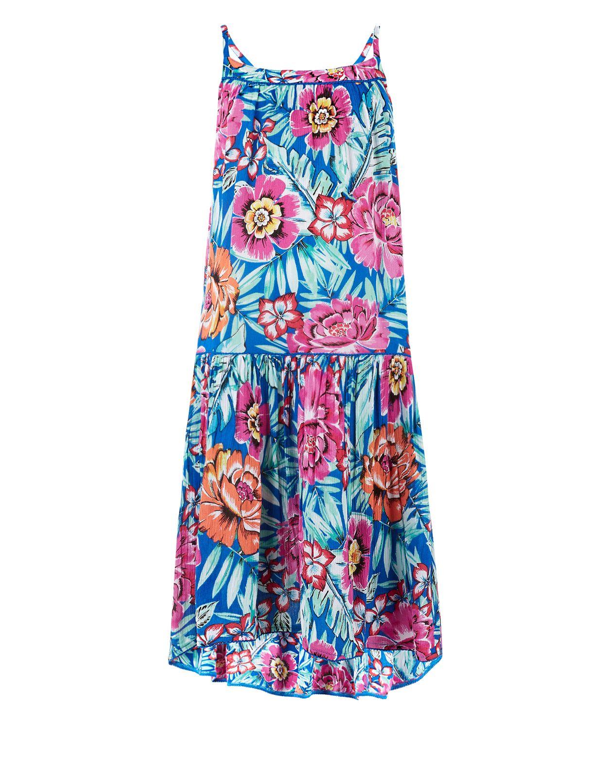 Monsoon | Paloma Floral Print Dress | Multi | 7-8 Years | prints ...