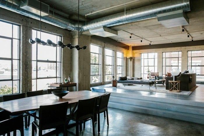Loft Einrichtungsideen offener wohnplan loft einrichtungsideen lofts