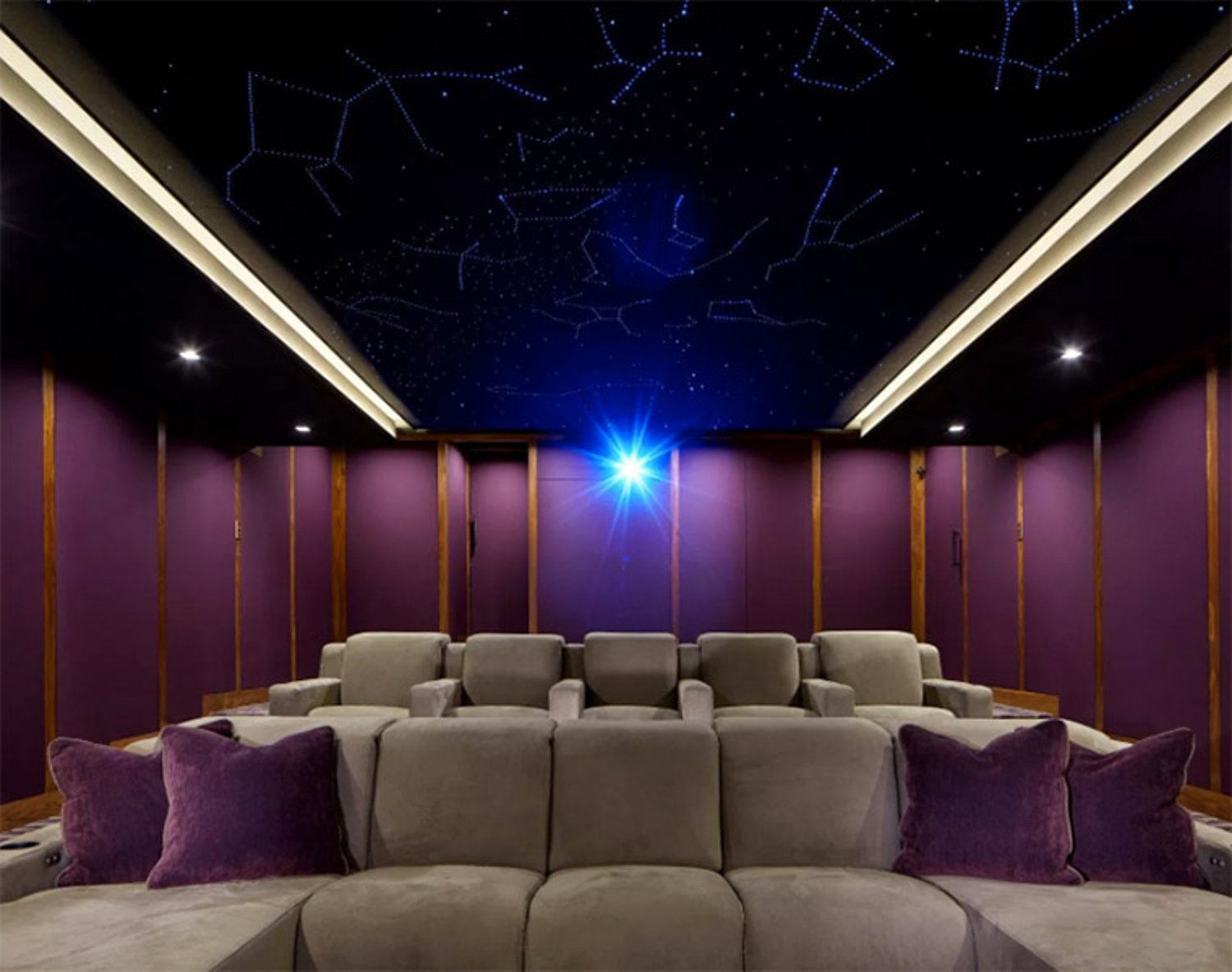 Dolby Atmos Home Theater Gains Finishing Touch, a Starlit ...