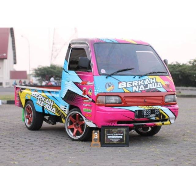 Keren 30 Gambar Mobil Carry Keren Branding Stiker Full Carry Pick Up Futura Desain Bebas Murah Keren Download Jual Ite Modifikasi Mobil Mobil Stiker Mobil