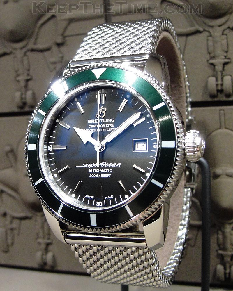 Baselworld 2011  Breitling Superocean Heritage 42 349fef4921a