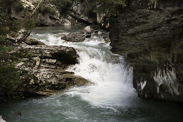 Banff National Park - Johnston Canyon, Canada (http://wonderfulwanderings.com/search-light-banff-national-park/)