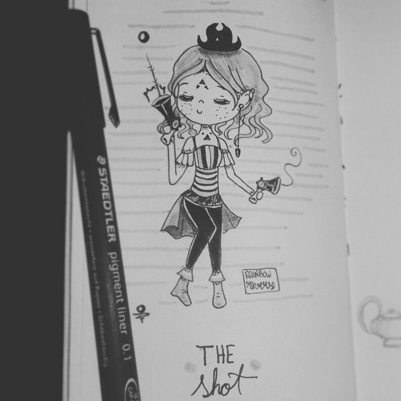 Inktober Day 27: Clow Card - The Shot By: Rainbow Reverse ♡