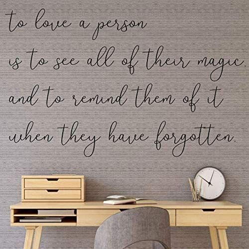 Chic Living Roomideas: Wall Decal For Loved Ones