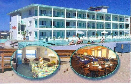 Santa Maria Motor Hotel Ocean City Md Ocean City Boardwalk Hotel Ocean City Maryland