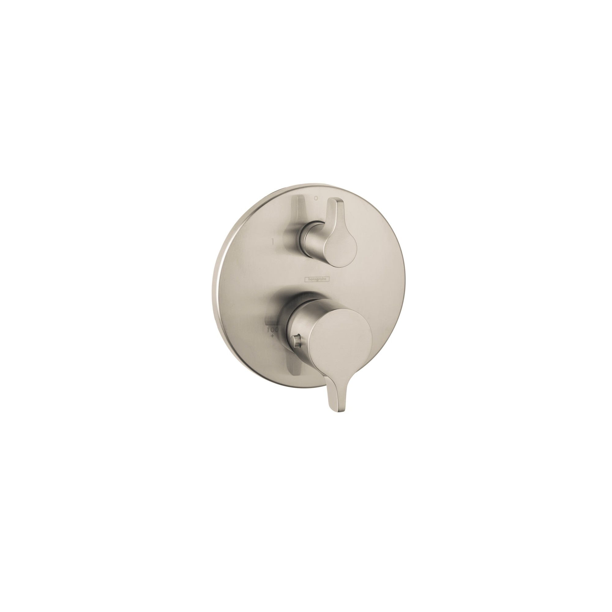 Hansgrohe 4353 S E Thermostatic Valve Trim Brushed Nickel