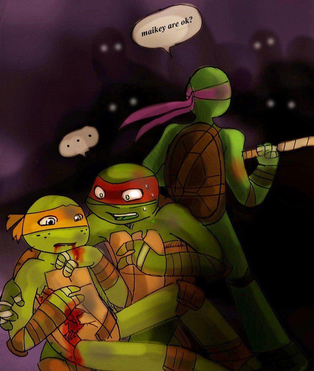 Yinller S Deviantart Gallery Teenage Mutant Ninja Turtles Artwork Tmnt Comics Tmnt Mikey