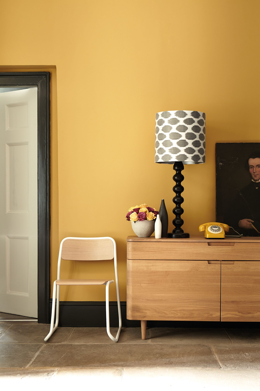 Little Greene gele muur | Home Decor | Pinterest | Interiors, Living ...