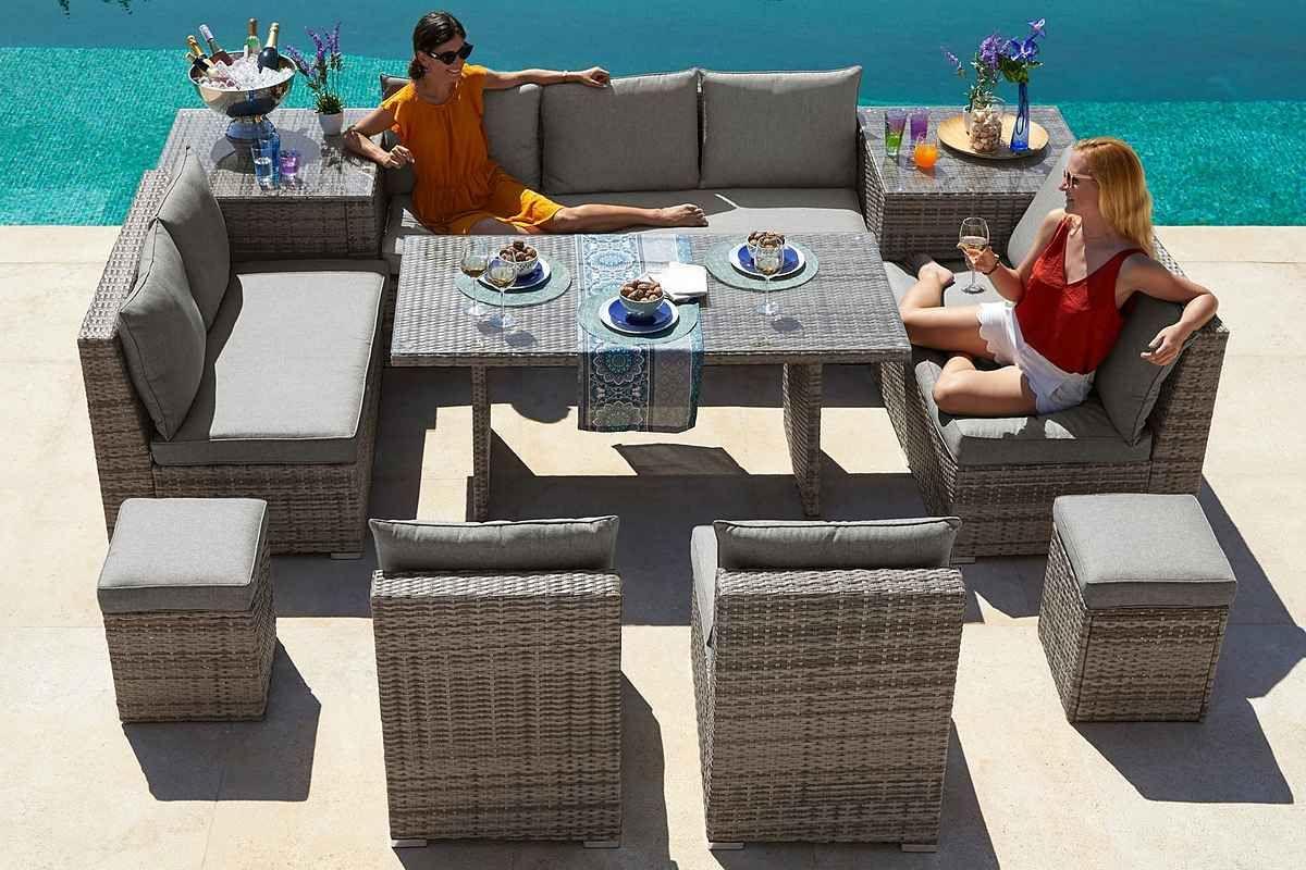 Konifera Loungeset Florida Grosses Loungeset Mit Diversen Stellmoglichkeiten Fur 11 Personen Geeignet Online Kaufen Otto In 2021 Aussenmobel Gartenmobel Sets Lounge
