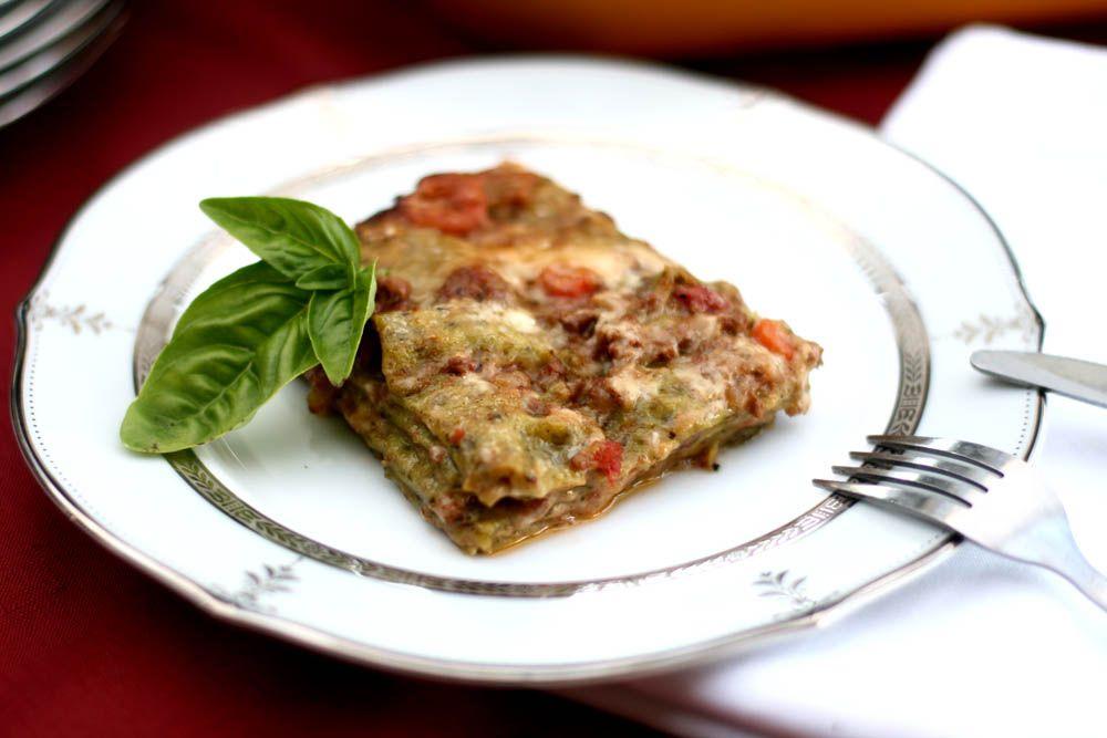 AZ Cookbook - Food From Azerbaijan & Beyond » Lasagne Verdi al Forno - Daring Bakers, March, 2009