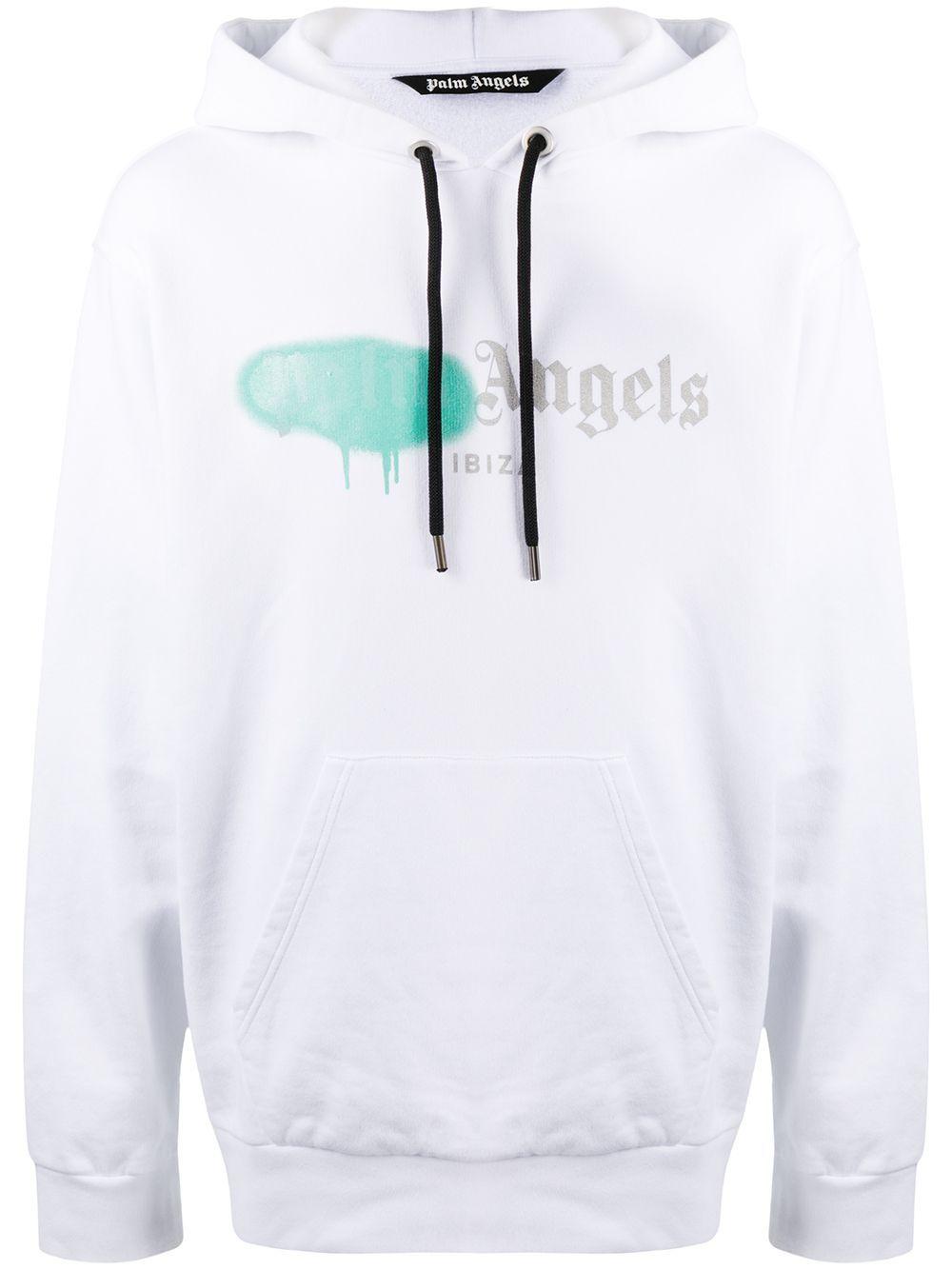 Palm Angels Ibiza Sprayed Hoodie Farfetch In 2021 Sick Clothes Hoodies Palm Angels [ 1334 x 1000 Pixel ]