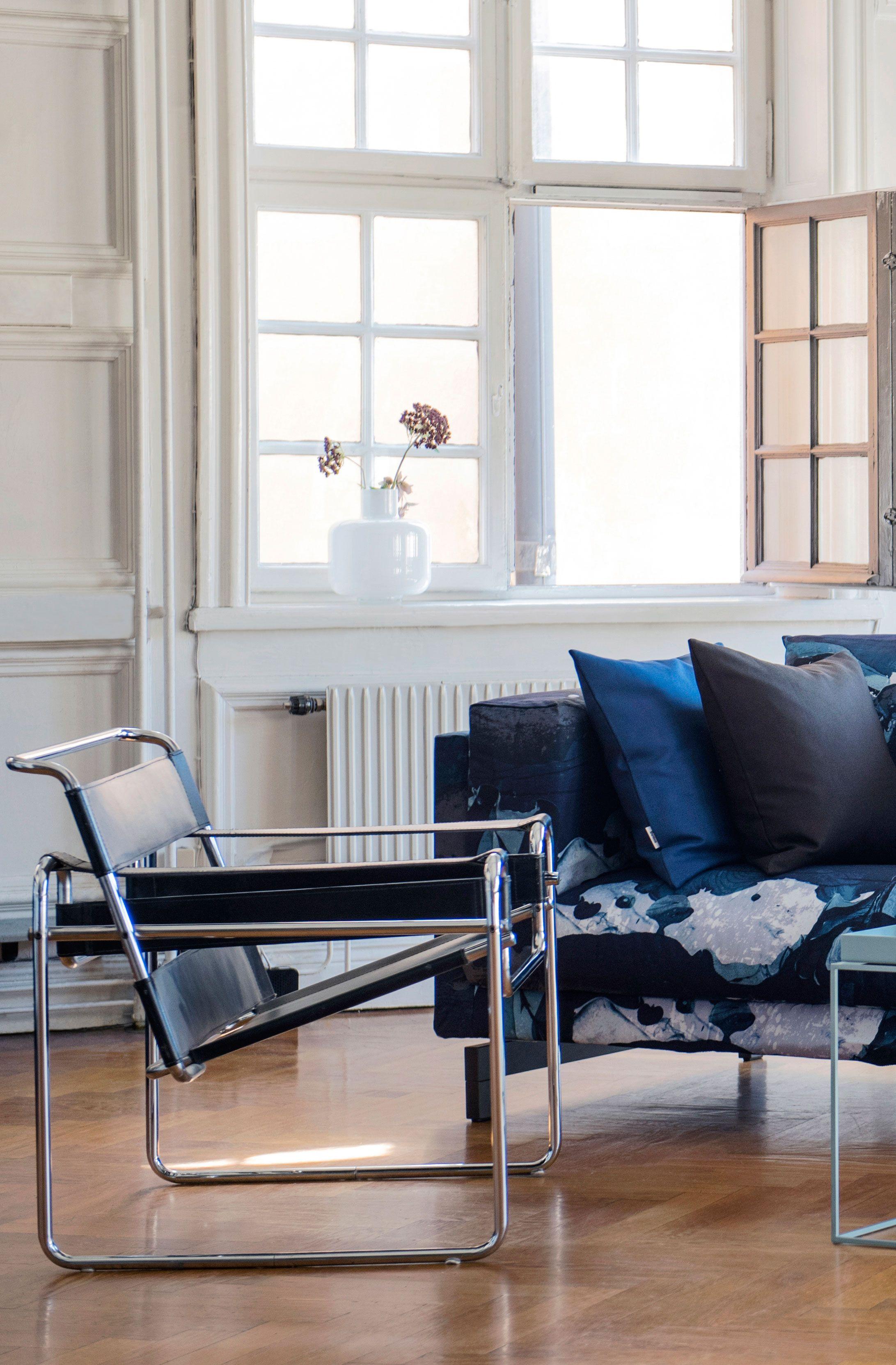 Retro IKEA Nockby in Bemz slipcover in För att Himlen är