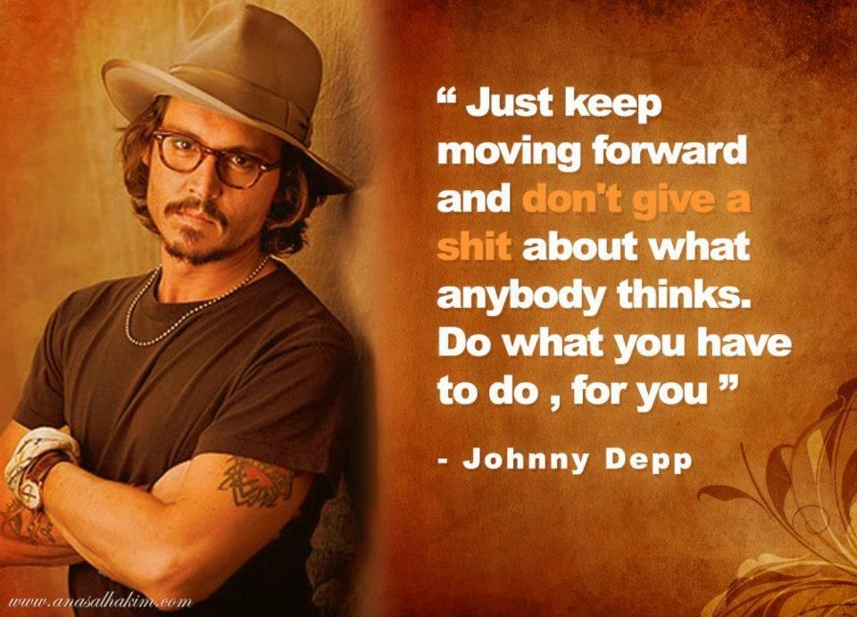 I love Johnny Depp! <3