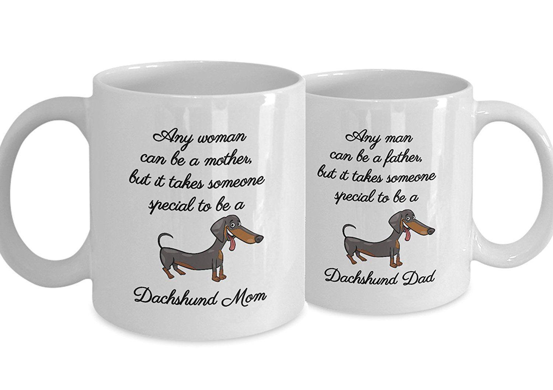 Dachshund coffee mug set matching dachshund wiener mugs