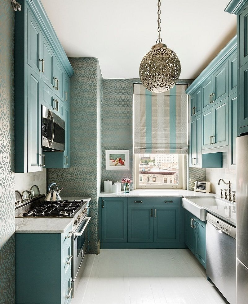 16 Tiny Kitchens That Prove That Bigger Isn T Always Better Kitchen Remodel Small Tiny Kitchen Design Kitchen Design Small