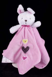 d7786d3517 Carters Just One You Rabbit Pink Plush Lovey Security Blanket. We carry  100 s of plushes and loveys in our store  www.lechatnoirboutique.com