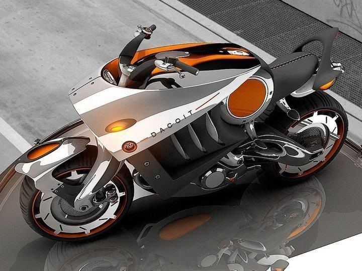 Dacoit, 3D motorcycle Rendering