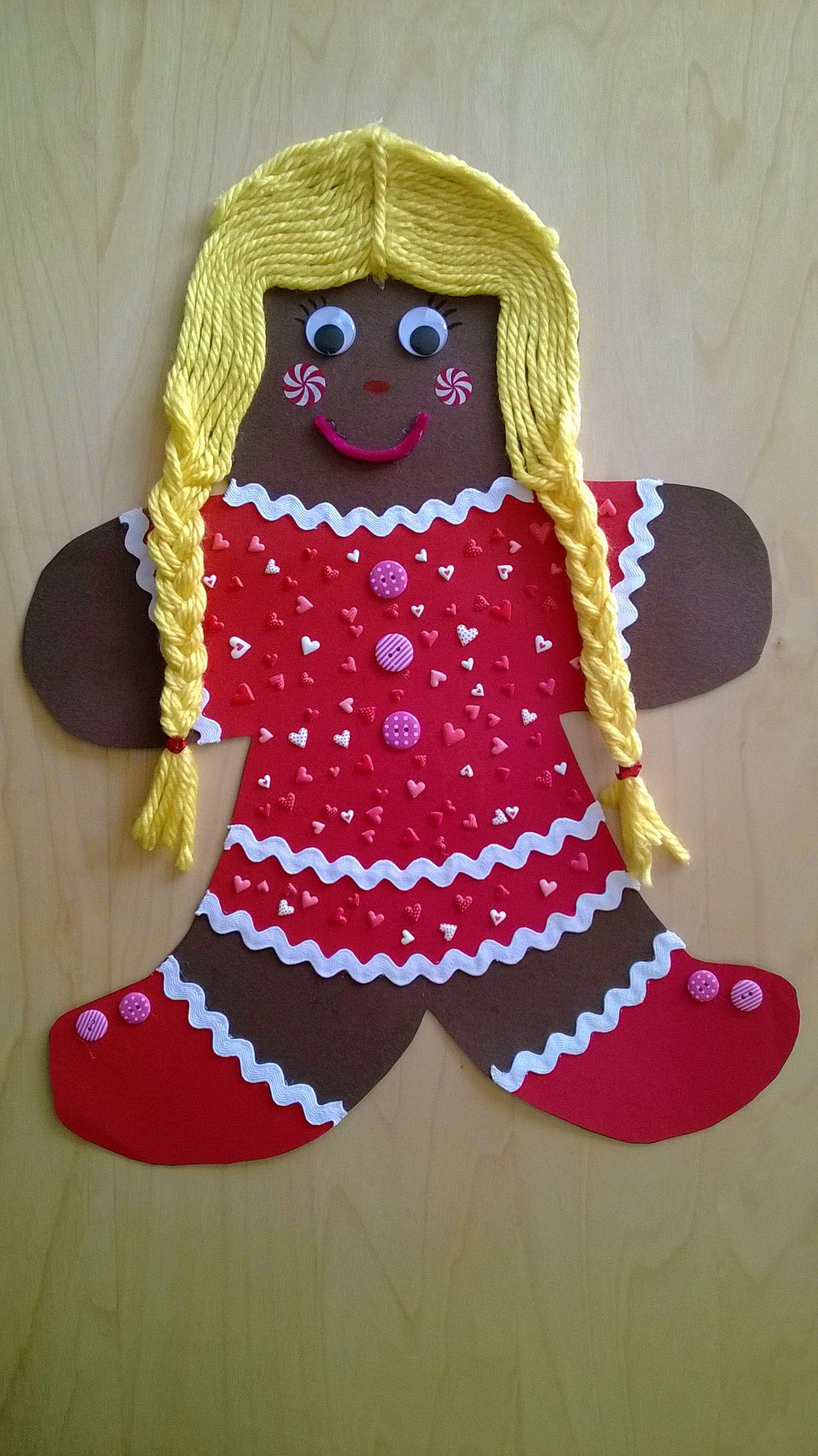 Suzy Gingerbread Man S Girlfriend Preschool Homework Project For