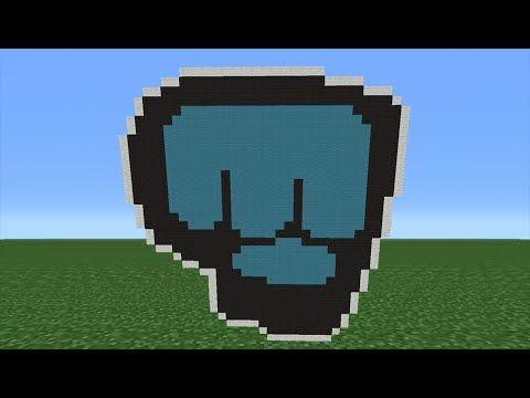 Minecraft Tutorial How To Make The Brofist Pewdiepie Logo Avatar Minecraft Tutorial Minecraft Avatar