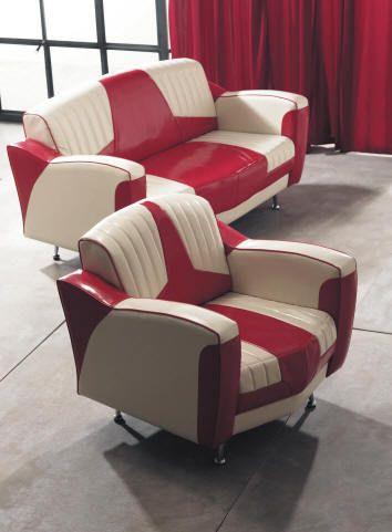 sofa y sillon estilo aos retro americano aos 50 my future home