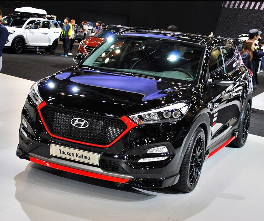 M S Front Lip For Hyundai Tucson Tl 2016 Suv Cars