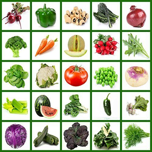 Heirloom Vegetable Seed Bank Non Gmo Non Hybrid All In One Vegetables Fruits Herbs Planting Vegetables Vegetable Planting Guide Heirloom Vegetables