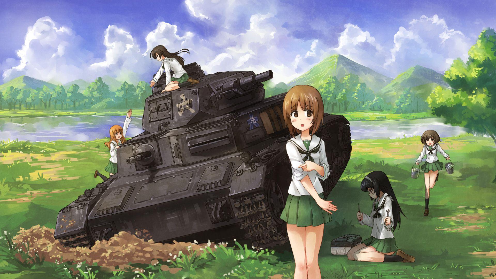 Preview Art 57510 1920x1080 Anime Girls Und Panzer In 2020 Anime Art Girl Anime Art Girl