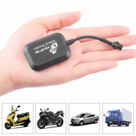 Mini GSM GPRS GPS Network Auto Vehicle Motorcycle Bike Monitor Tracker USED