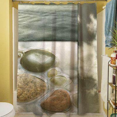 Manual Woodworkers & Weavers Natural Elements III Shower Curtain