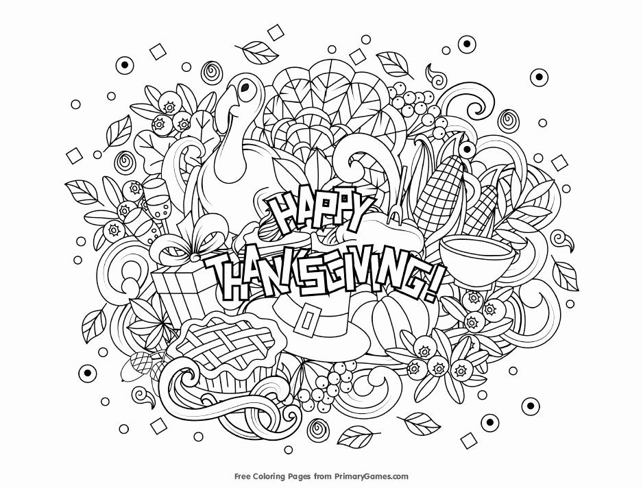 thanksgiving coloring sheets for kids in