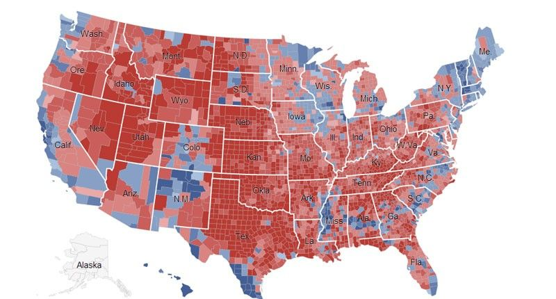 America Is Moving To The Right And Away From The Democratic Party - Us welfare map