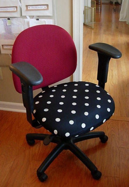 Diy Office Chair Makeover With Fabric Office Chair