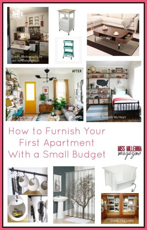 How to Furnish Your First Apartment With a Small Budget Organizing