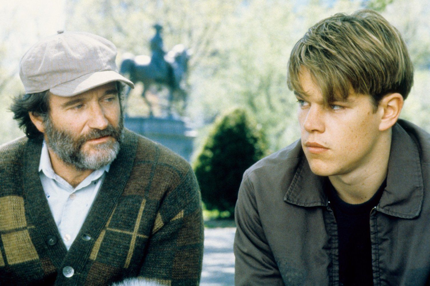 Mente Indomable 1997 El Indomable Will Hunting Indomable Pelicula Mente Indomable