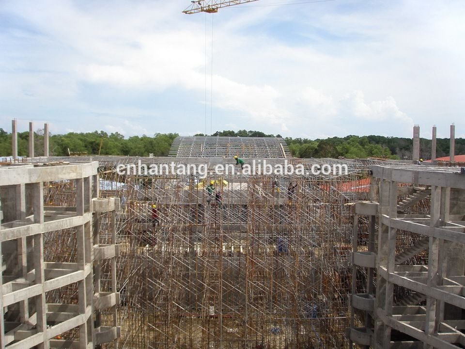 Multipurpose hall steel structure space frame roof system building ...