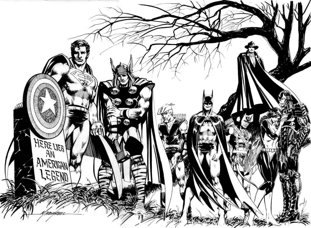 Ultimate Avengers Coloring Pages : To print this free coloring page «coloring adult avengers captain