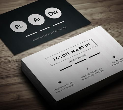 Super flat corporate business card graphicview super flat corporate business card graphicview colourmoves