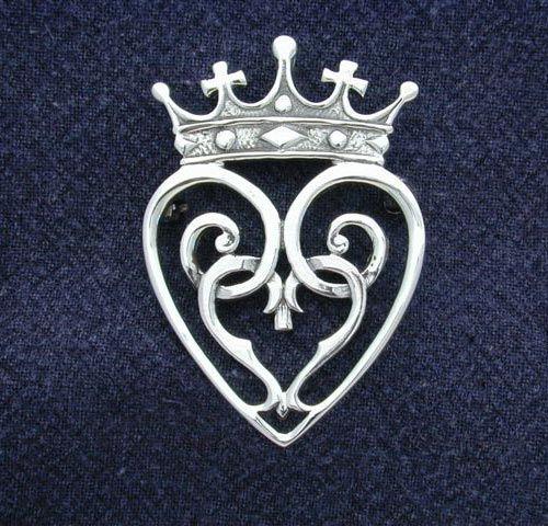 Mary Queen Of Scots Brooch Hebridean Scottish Celtic Jewellery