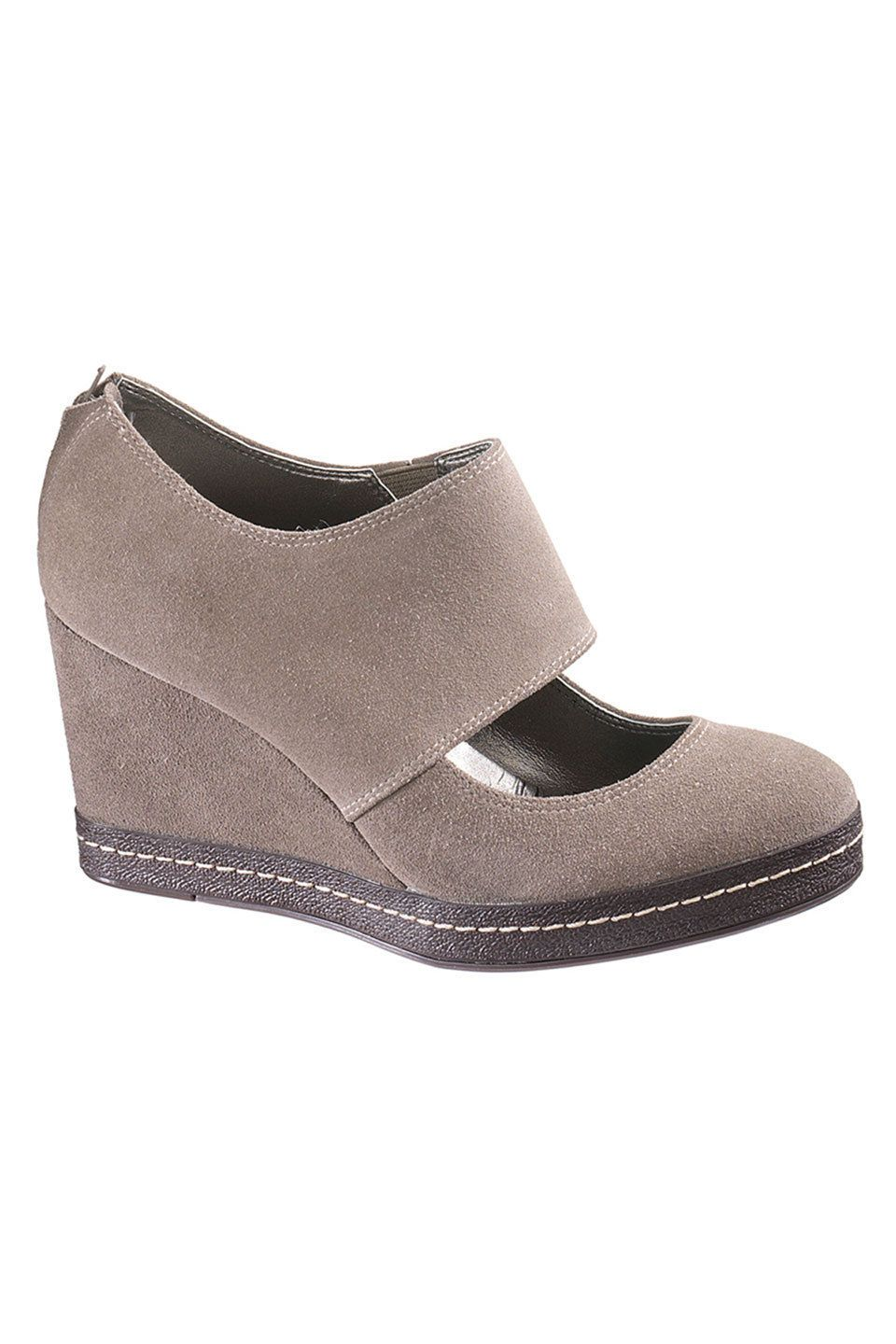 Hush Puppies Beka Shoes In Taupe Suede - Beyond the Rack $69.99