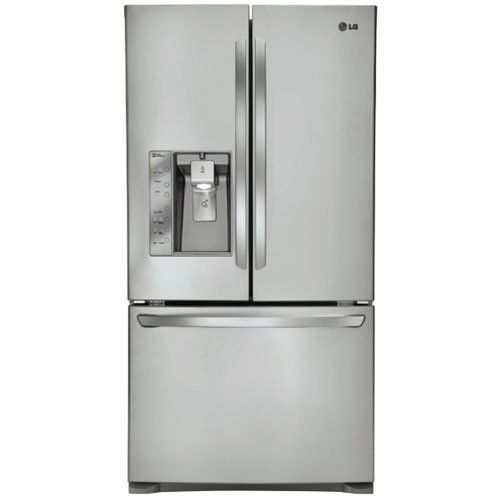 Lg Ultra Capacity Counter Depth 3 Door French Door Refrigerator