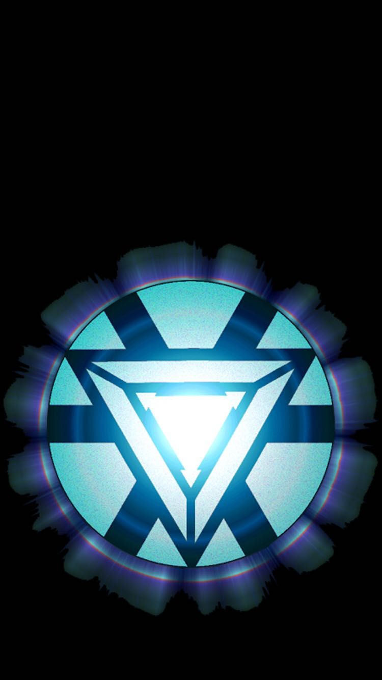 Arc reactor iphone 6 screen fav iron man iron man arc - Iron man heart wallpaper ...