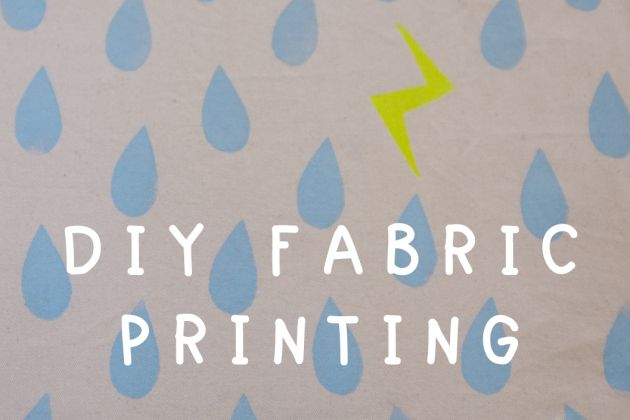 Diy Fabric Printing Tutorial Part 1 Making Stamps Printing On