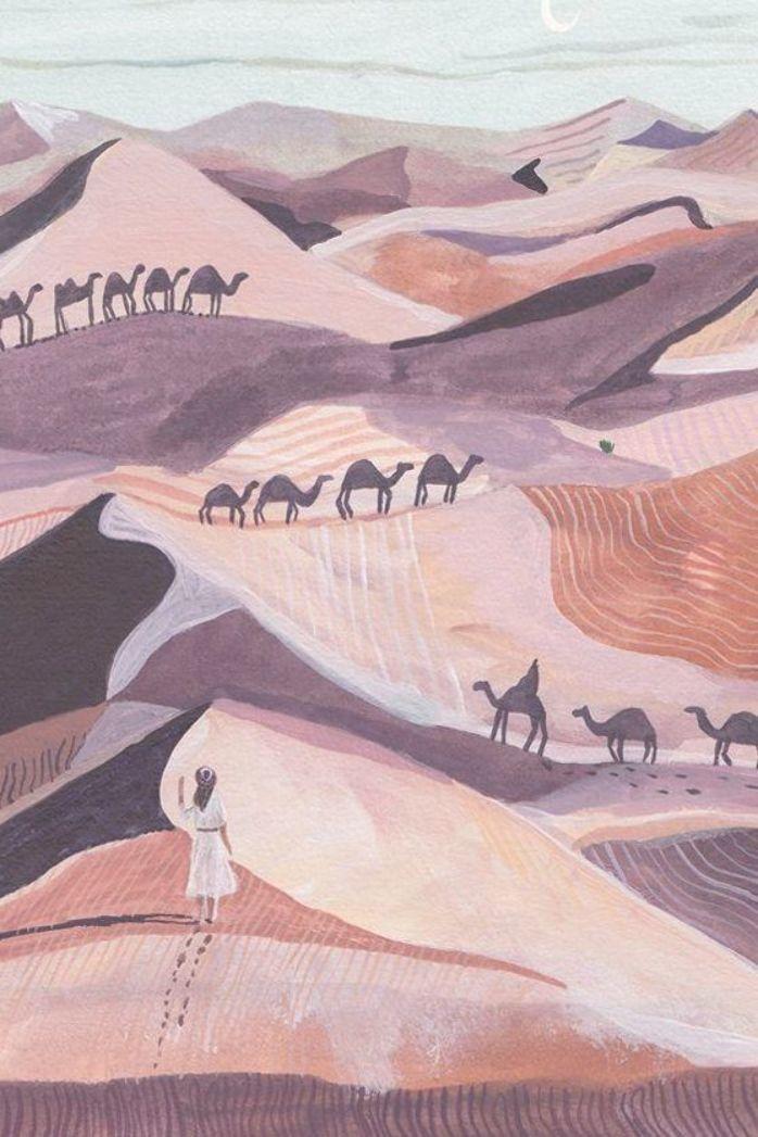 Soul Illustrates The Wild Beauty Found Around the World Travel illustration by Miranda SofroniouTravel illustration by Miranda Sofroniou