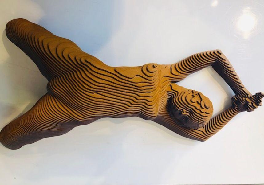 Martina acrylic - Olivier Duhamel, Sculptor