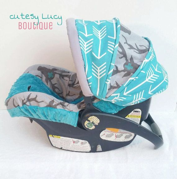 Arrow Deer Boutique Boys Infant Car Seat Carseat By CutesyLucyBtq