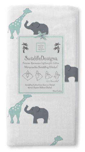 SwaddleDesigns Marquisette Swaddling Blanket, Safari Fun, SeaCrystal SwaddleDesigns http://www.amazon.com/dp/B00BUPU2B6/ref=cm_sw_r_pi_dp_pgA9tb0SJXKJB