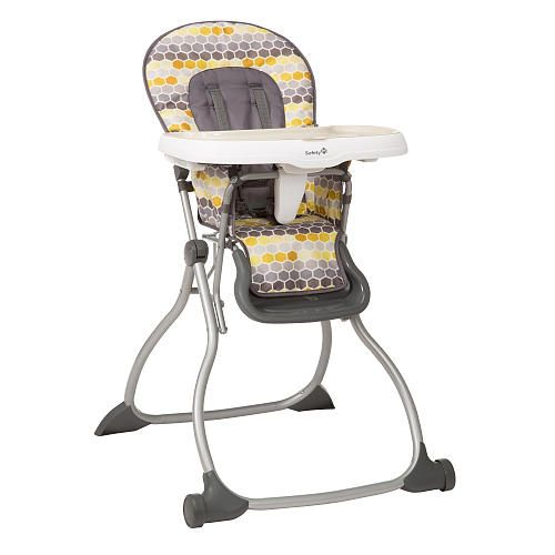 Safety 1st Fast Pack Elite High Chair Honeycomb Safety 1st
