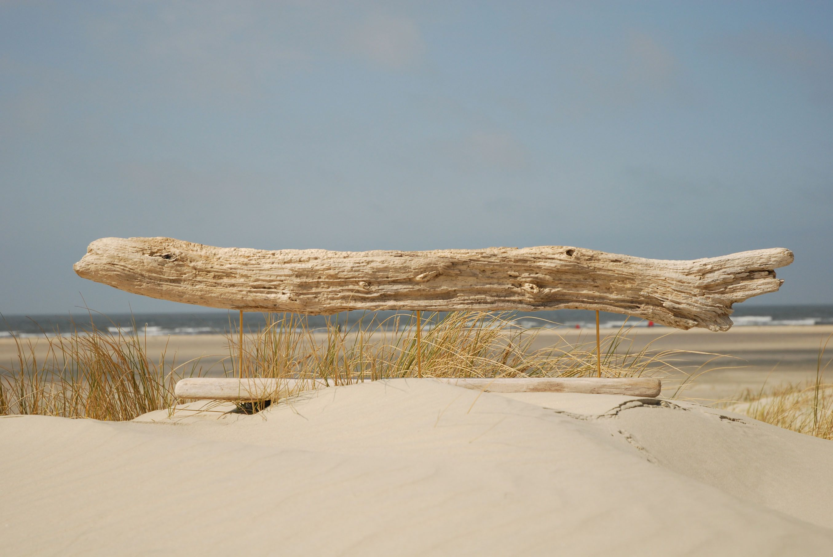 Treibholz-Skulptur KAPITALER FANG ~ driftwood sculpture